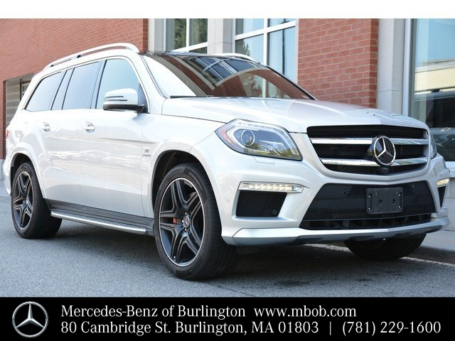 Certified Pre-Owned 2015 Mercedes-Benz GL AMG® GL 63 SUV