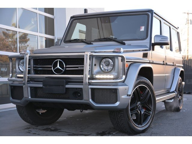 Certified Pre Owned 2018 Mercedes Benz G Class Amg G 63 Suv Suv In