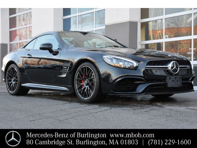 Certified Pre-Owned 2017 Mercedes-Benz SL-Class SL 63 AMG®