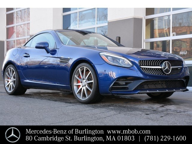 Certified Pre-Owned 2018 Mercedes-Benz SLC AMG® SLC 43 Roadster