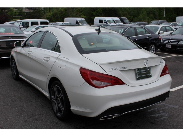 New 2018 MercedesBenz CLA CLA 250 Coupe in Burlington J526489L