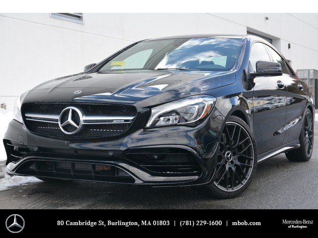 New 2018 mercedes benz cla amg cla 45 coupe coupe in for Mercedes benz cla 2018 price