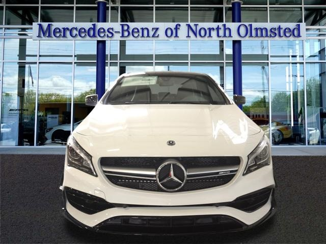 Pre owned 2018 mercedes benz cla cla 45 amg coupe in for Mercedes benz north olmsted
