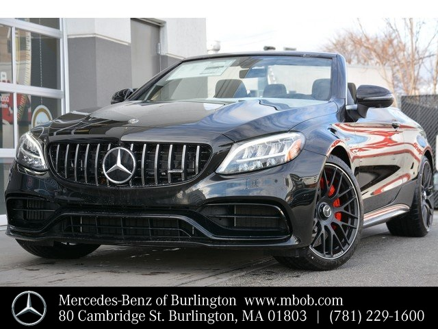 New 2020 Mercedes-Benz C-Class AMG® C 63 S Cabriolet