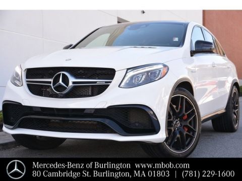 Certified Pre-Owned 2016 Mercedes-Benz GLE AMG® GLE 63 S Coupe