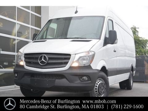 Certified Pre-Owned 2018 Mercedes-Benz Sprinter 3500 Cargo Van