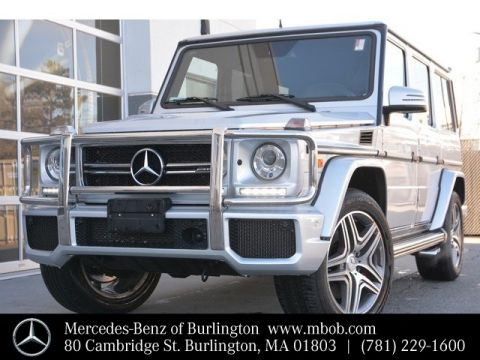 Certified Pre-Owned 2015 Mercedes-Benz G-Class AMG® G 63 SUV