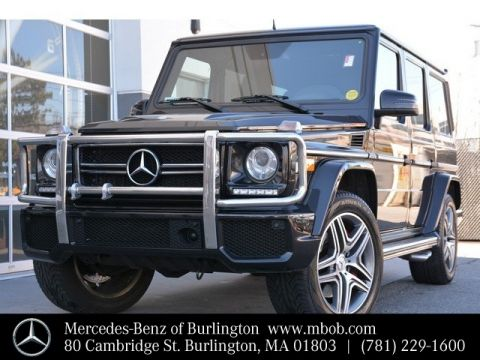 Certified Pre-Owned 2014 Mercedes-Benz G-Class AMG® G 63 SUV
