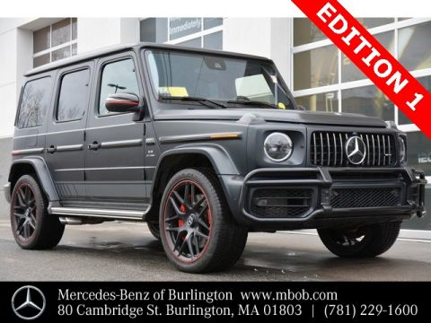 Certified Pre-Owned 2019 Mercedes-Benz G-Class AMG® G 63 SUV
