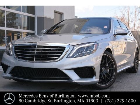 Certified Pre-Owned 2015 Mercedes-Benz S-Class AMG® S 63 Long Wheelbase 4MATIC