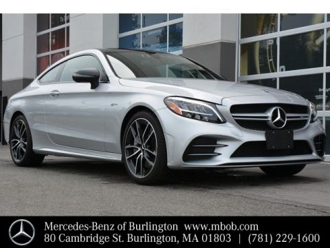 Certified Pre-Owned 2019 Mercedes-Benz C-Class AMG® C 43 Coupe