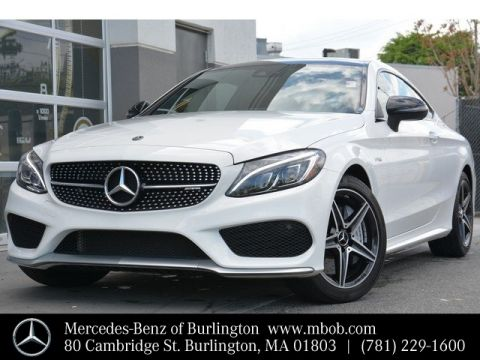 Certified Pre-Owned 2018 Mercedes-Benz C-Class AMG® C 43 Coupe