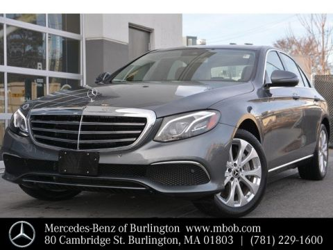 Pre-Owned 2018 Mercedes-Benz E-Class E 400 Luxury