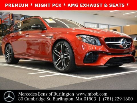 Certified Pre-Owned 2018 Mercedes-Benz E-Class AMG® E 63 S Wagon